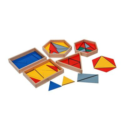 Constructive Triangles With 5 Boxes